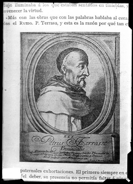 CA-0683-VI_Grabado-Retrato del carmelita Pedro de Tarrasa