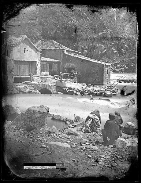 CA-0711-VI_Lavanderas en el río Tajo