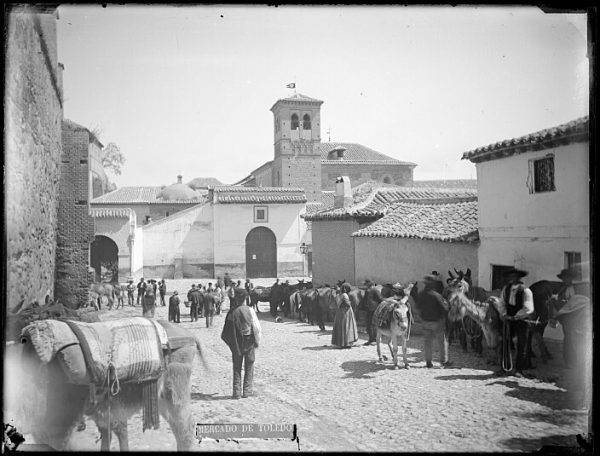 CA-0721-VI_Mercado de ganado en la plaza de la Concepción