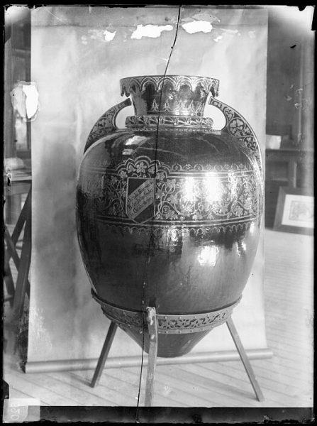 CA-0740-VI_Ánfora realizada en la Escuela Superior de Artes Industriales de Toledo en 1903