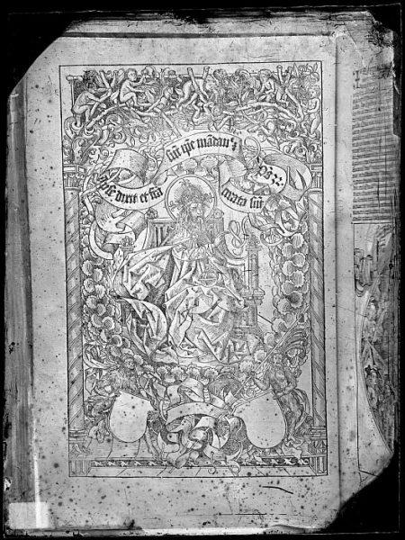 CA-0780-VI_Grabado que ilustra el Liber chronicarum de Hartmann Schedel, impreso por Anton Koberger, en Nuremberg en 1493