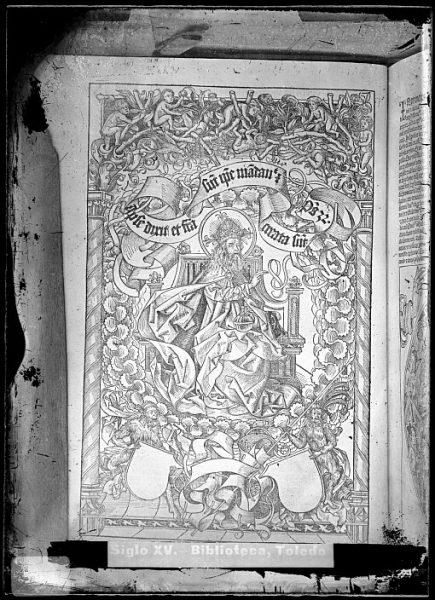 CA-0781-VI_Grabado que ilustra el Liber chronicarum de Hartmann Schedel, impreso por Anton Koberger, en Nuremberg en 1493