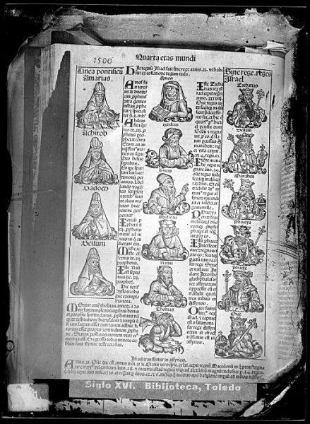 CA-0787-VI_Grabado que ilustra la Quarta eras mundi del Liber chronicarum de Hartmann Schedel, impreso por Anton Koberger, en Nuremberg en 1493