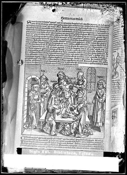 CA-0788-VI_Grabado que ilustra la Sexta eras mundi del Liber chronicarum de Hartmann Schedel, impreso por Anton Koberger, en Nuremberg en 1493