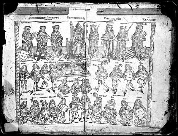 CA-0791-VI_Grabado que ilustra la Sexta eras mundi del Liber chronicarum de Hartmann Schedel, impreso por Anton Koberger, en Nuremberg en 1493