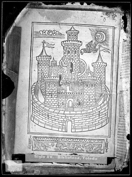 CA-0808-VI_Grabado que ilustra el libro Hortus sanitatis, vel tractatus de herbis et plantis, de animalibus omnibus et de lapidibus , publicado en Maguncia en 1491