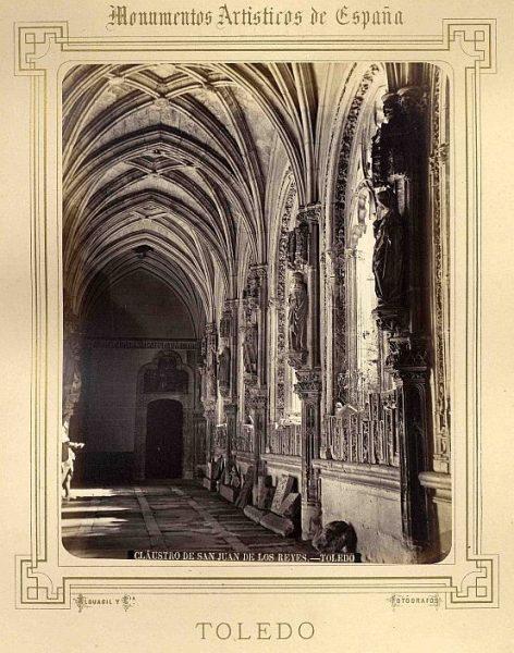 CA-0865-PA_Convento de San Juan de los Reyes-Nave del claustro