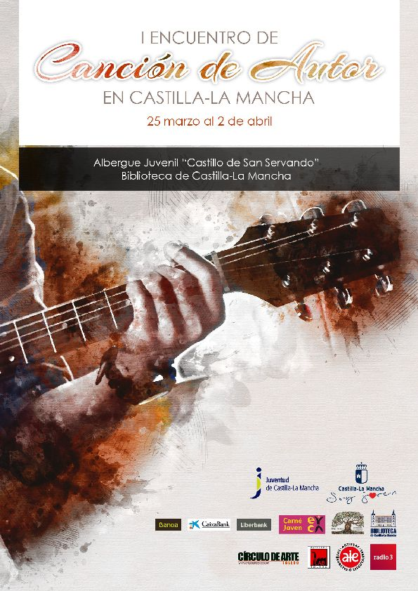 https://www.toledo.es/wp-content/uploads/2017/02/cantautor.jpg. I Encuentro de canción de autor en Castilla la Mancha