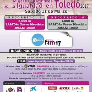 V Carrera Solidaria: Mujeres y Hombres por la Igualdad Toledo
