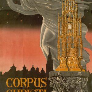 El Archivo Municipal ingresa tres nuevos carteles de las Fiestas del Corpus