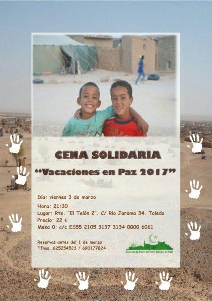CartelCenaSolidariaPuebloSaharaui-724x1024