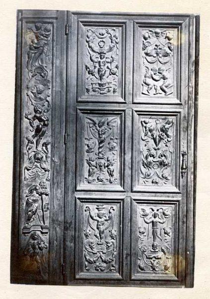 Catedral-Antesala Capitular - Puerta de un armario-Colección Luis Alba_LA-133058-PA