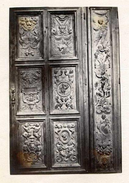 Catedral-Antesala Capitular - Puerta de un armario-Colección Luis Alba_LA-233059-PA