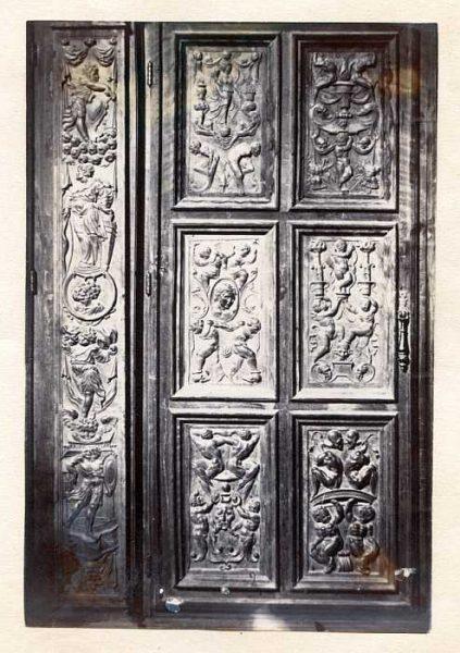 Catedral-Antesala Capitular - Puerta de un armario-Colección Luis Alba_LA-333060-PA