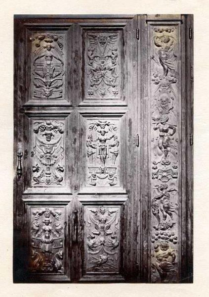 Catedral-Antesala Capitular - Puerta de un armario-Colección Luis Alba_LA-433061-PA
