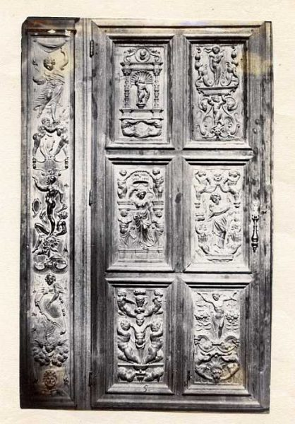 Catedral-Antesala Capitular - Puerta de un armario-Colección Luis Alba_LA-533062-PA