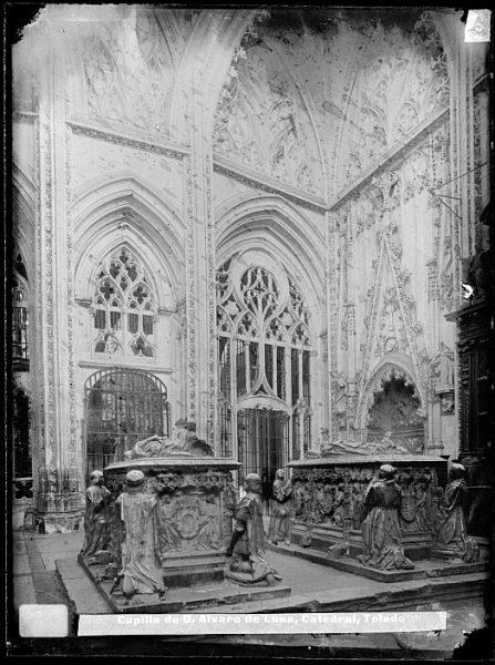 Catedral-Capilla de D Álvaro de Luna, sepulcros de D Álvaro de Luna y D¬ Juana Pimentel_CA-0055-VI
