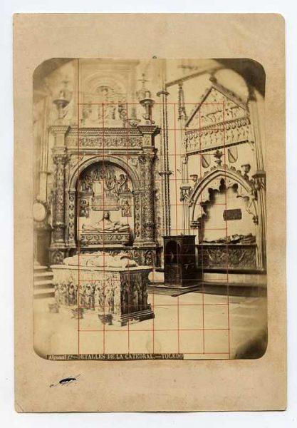 Catedral-Capilla de San Ildefonso - Sepulcro del Obispo Alonso Carrillo de Albornoz-Colección Luis Alba_LA-334090-PA