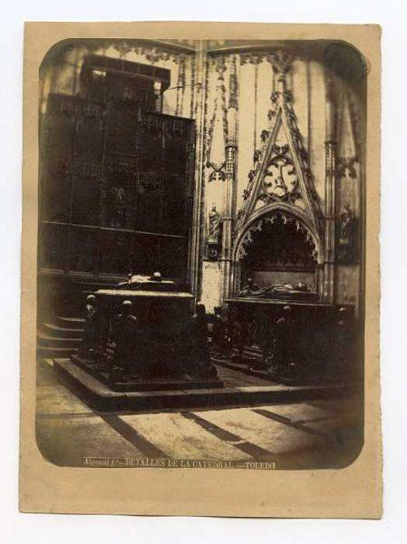 Catedral-Capilla de Santiago - Sepulcros de Álvaro de Luna y su mujer Juan Pimentel-Colección Luis Alba_LA-534051-PA