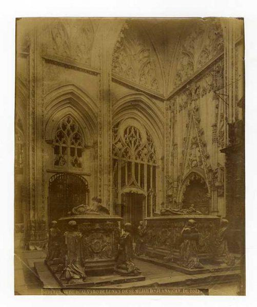 Catedral-Capilla de Santiago - Sepulcros de Álvaro de Luna y su mujer Juan Pimentel-Colección Luis Alba_LA-737090-PA