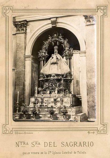 Catedral-Capilla del Sagrario - Imagen de la Virgen del Sagrario-Colección Luis Alba_LA-132025-PA