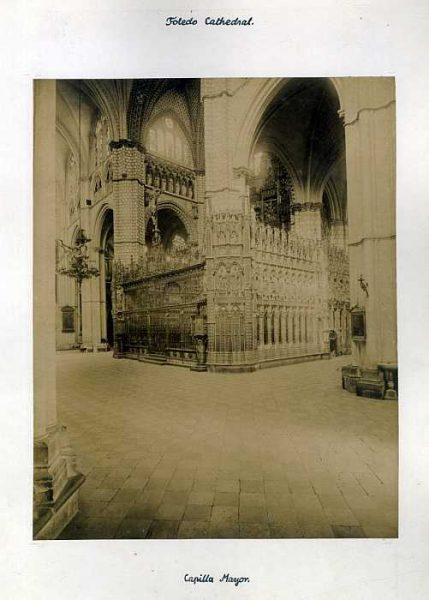 Catedral-Capilla Mayor - Exterior-Colección Luis Alba_LA-136027-PA