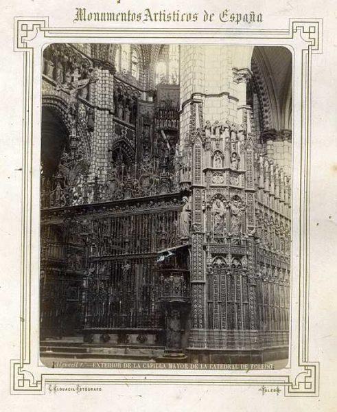 Catedral-Capilla Mayor - Exterior-Colección Luis Alba_LA-232010-PA