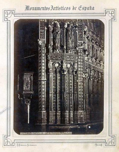 Catedral-Capilla Mayor - Exterior del lado derecho-Colección Luis Alba_LA-332014-PA