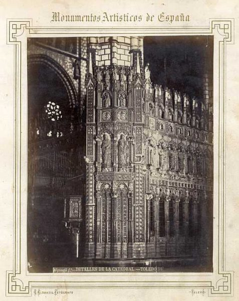 Catedral-Capilla Mayor - Exterior del lado derecho-Colección Luis Alba_LA-432015-PA