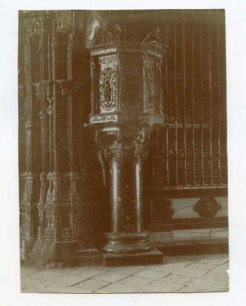 Catedral-Capilla Mayor - Púlpito-Colección Luis Alba_LA-534197-PA