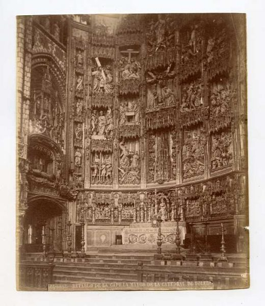 Catedral-Capilla Mayor - Retablo-Colección Luis Alba_LA-734123-PA