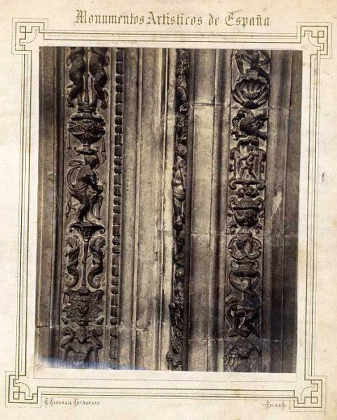 Catedral-Claustro - Detalle de la Puerta de la Presentación-Colección Luis Alba_LA-132022-PA