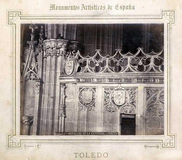 Catedral-Claustro - Detalle de la Puerta de Santa Catalina-Colección Luis Alba_LA-232058-PA