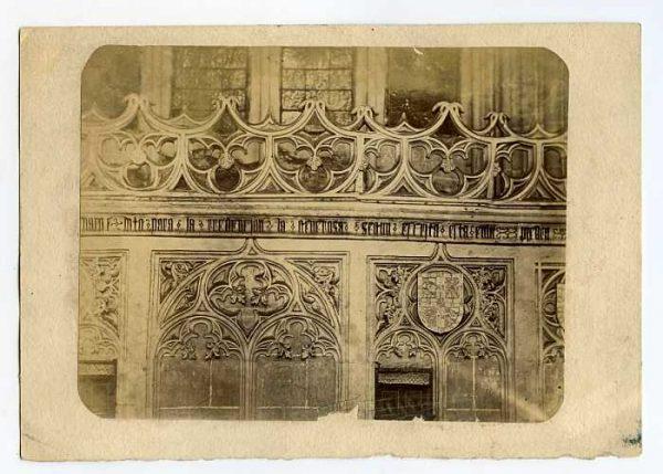 Catedral-Claustro - Detalle de la Puerta de Santa Catalina-Colección Luis Alba_LA-334057-PA