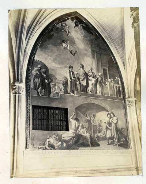 Catedral-Claustro - Fresco de Francisco Bayeu-Colección Luis Alba_LA-833052-PA