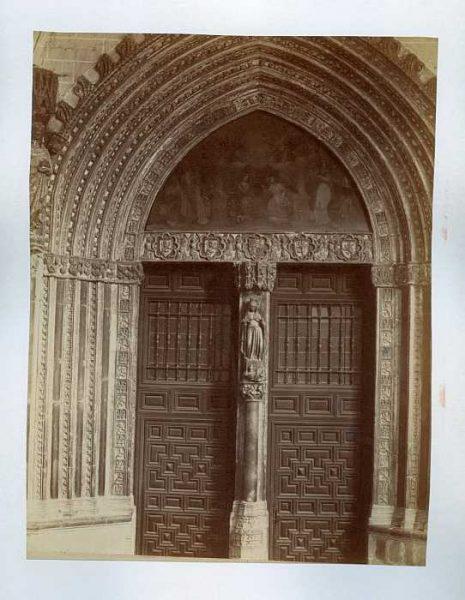 Catedral-Claustro - Puerta de la Visitación-Colección Luis Alba_LA-433005-PA