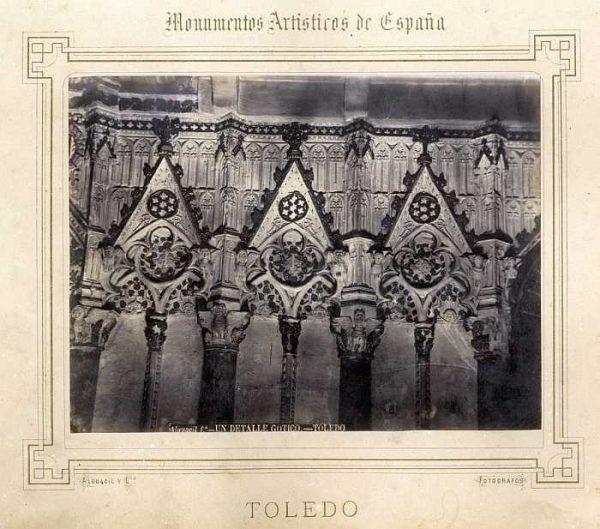 Catedral-Coro - Detalle gótico del exterior-Colección Luis Alba_LA-132057-PA