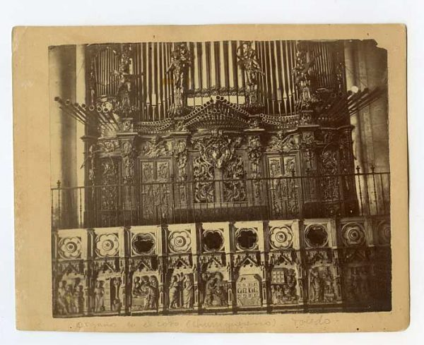 Catedral-Coro - Ërgano-Colección Luis Alba_LA-334047-PA