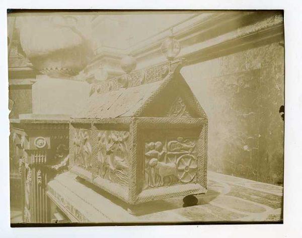 Catedral-Detalle de baúl o arcón decorado-Colección Luis Alba_LA-1634209-PA