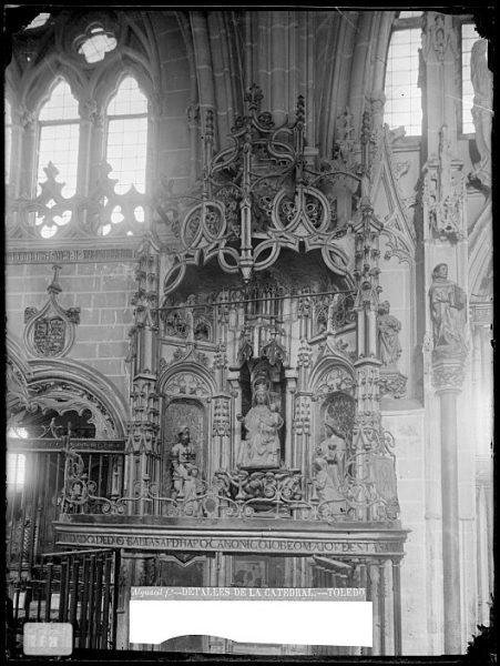 Catedral-Detalle de la capilla de D Baltasar de Haro_CA-0059-VI