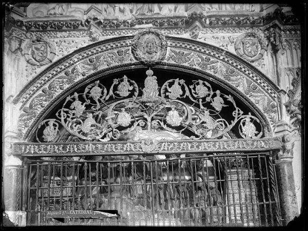 Catedral-Detalle de la capilla del Cristo Tendido_CA-0223-VI