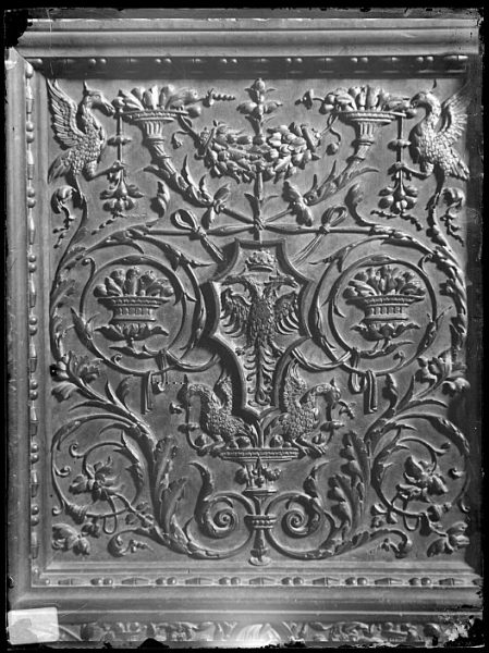 Catedral-Detalle de la puerta de la Sala Capitular_CA-0267-VI