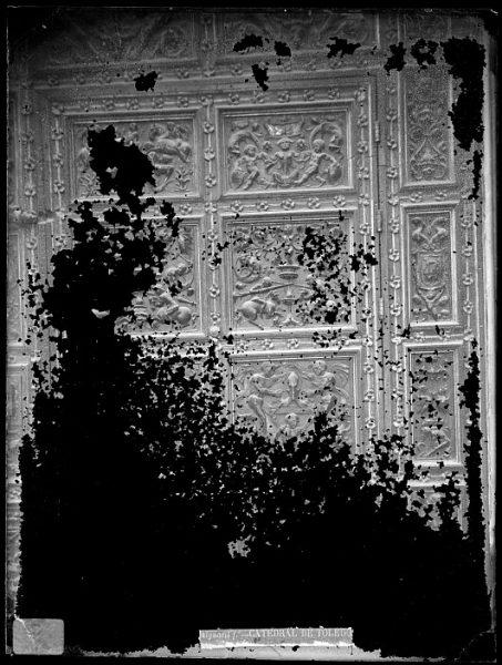 Catedral-Detalle de la Puerta de los Leones desde el interior_CA-0217-VI