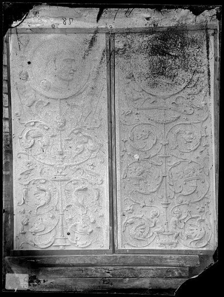 Catedral-Detalle de la Puerta de los Leones desde el interior_CA-0220-VI