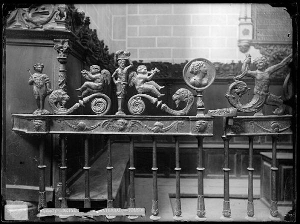 Catedral-Detalle de las rejas de la Capilla de Reyes Viejos_CA-0224-VI