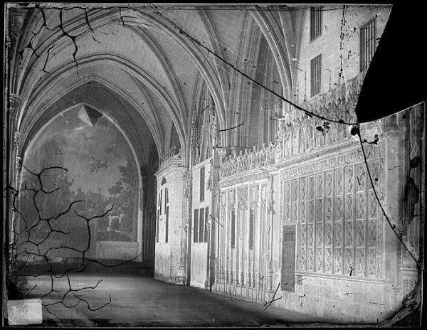 Catedral-Detalle de una de las naves del claustro_CA-0098-VI