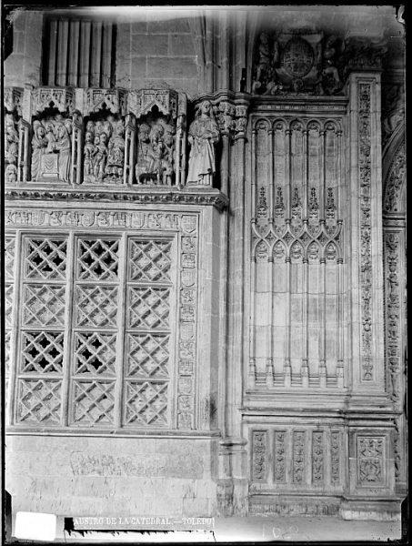 Catedral-Detalle de una de las naves del claustro_CA-0099-VI