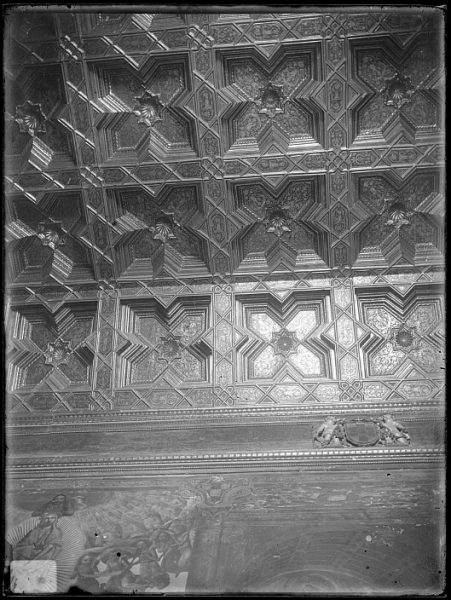 Catedral-Detalle del artesonado de la Sala Capitular_CA-0276-VI