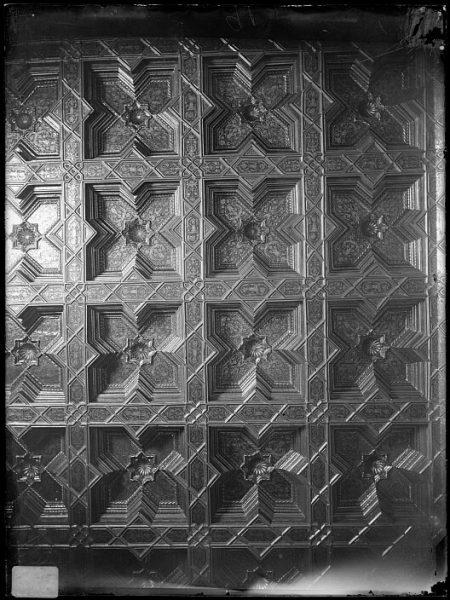 Catedral-Detalle del artesonado de la Sala Capitular_CA-0279-VI