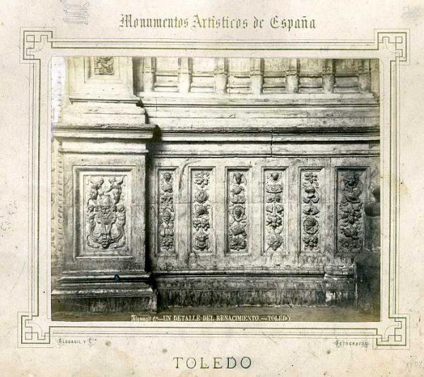 Catedral-Detalle del Renacimiento-Colección Luis Alba_LA-132061-PA